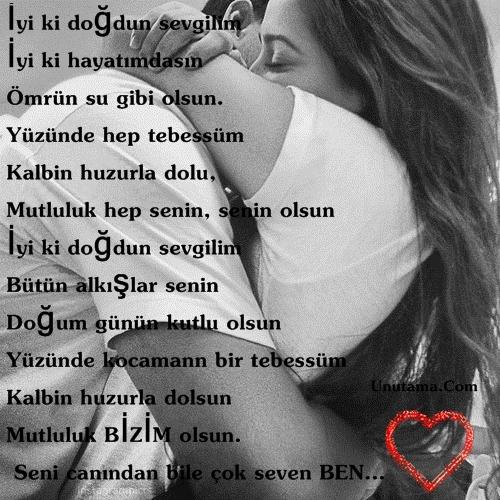 Sevgiliye En Güzel Doğum Günü şiirleri En Güzel Sözler