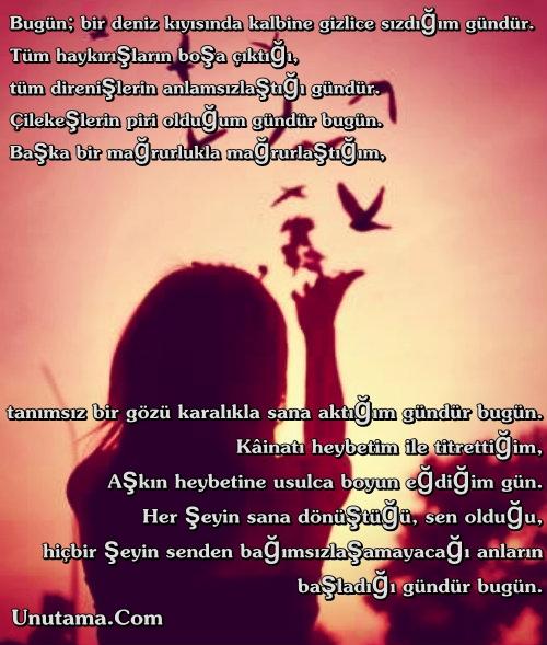 Bugün; Aşk'ın Günüdür. Aşk'ın Günü Her Gündür...